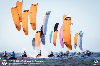 Thrillingly-tight contests at KiteFoil World Series final in Italy in punchy Mistral winds